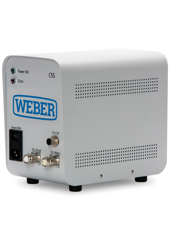 WEBER control system C5S