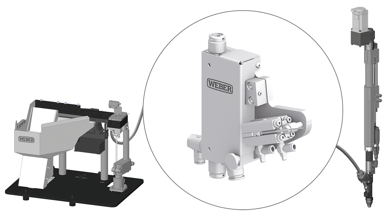 WEBER Technical Cleanliness Dirt-Break - Stationary Screwdriving System
